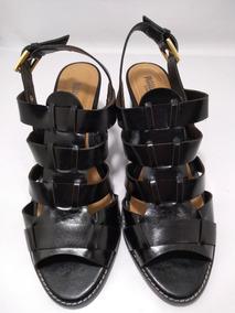 Sandalia Feminino Numeros Especiais Preto 6162-1106p