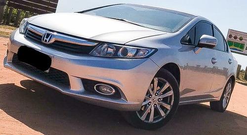 Imagem 1 de 8 de Honda Civic 2014 2.0 Lxr Flex Aut. 4p
