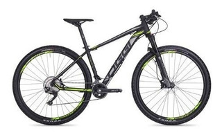 Bicicleta 29 Oggi Big Wheel 7.4 2018 22v Preto/ Verde 17