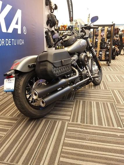 Harley Street Bob 2019 Como Nueva Equipada 1300k Unico Dueño
