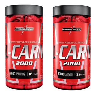 L Carnitina 2000 120caps Integralmedica Emagrecedor