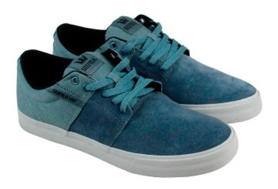 Supra Footwear - Stacks Vulc 2 - Slate Grey / Tenis Skate