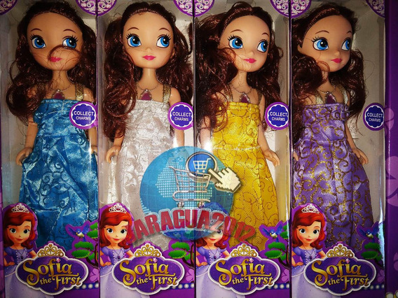 Muñeca Princesa Sofia The First 24cm Juguete Niña Barbie