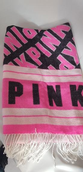 Pashmina Bufanda Manta Pink By Victorias Secret