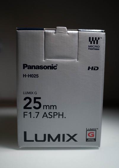 Lente Lumix 25 Mm 1.7