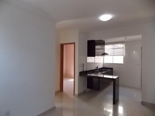 Imagem 1 de 21 de Apartamento À Venda, 2 Quartos, 1 Vaga, Cabral - Contagem/mg - 25403