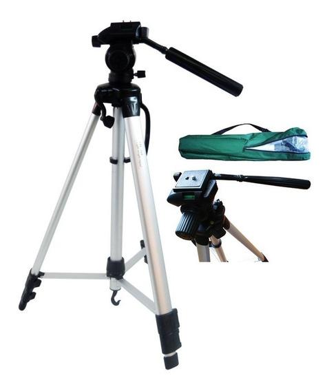 Tripe Aluminio Universal 1.50mts Camera Filmadora Telescopio