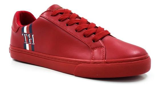 Tommy Hilfiger Lewie-a Medium Red Ll Dama-rojo