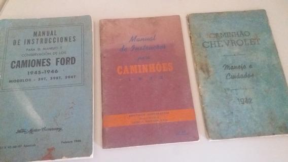 Manual Dos Caminhões Ford Chrysler E Chevrolet Dos Anos 40