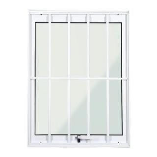 Janela Maxim Ar Alumínio Branco Grade 1,00 X 0,50