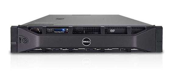 Dell R510, 2x Xeon L5530 2.4 Ghz, 32gb, 600gb Sas / Seminovo