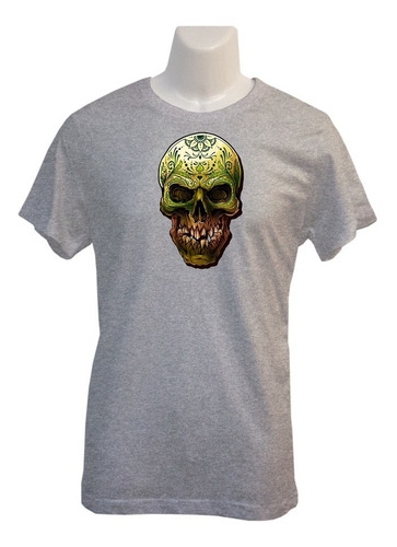Polera Skull Tribal - Polo - Vinilo Sublimable - Regalo