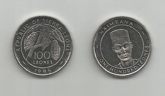 Moneda Sierra Leona 100 L. 1996 S/c