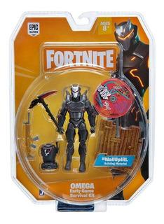 Muñeco Fortnite Omega Survival Kit Articulado 11cm Original