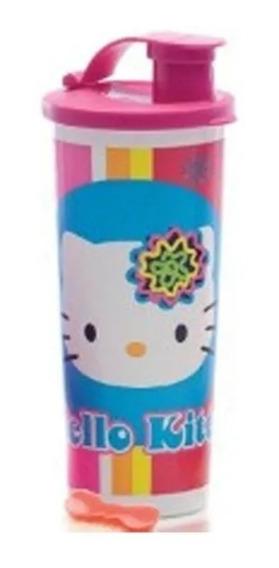 Vaso Hermetico Hello Kitty Tupperware 0% Bpa