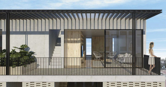 Condesa, Increíble Pent House Con Roof Garden Privado