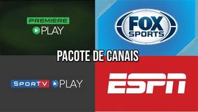 Assistir Premiere, Fox Sports, Sportv, Espn Acesso 1 Ano