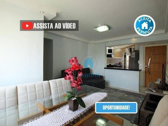 Ap1508- Apartamento Com 2 Dormitórios À Venda, 54 M² Por R$ 205.000 - Bandeiras - Osasco/sp - Ap1508