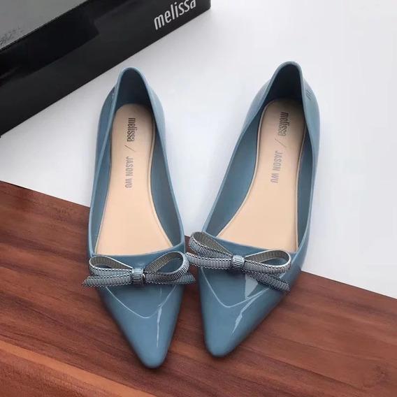 Zapatos Flats Mujer Melissa Cinderella Jason Wu 22.5-25 Mx