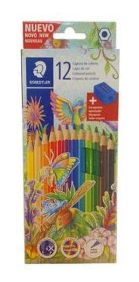 Lapices De Color Pinturitas Staedtler Largas X12 - Rosario