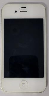 iPhone 4 8gb Branco Original Com Defeito Sem Garantia