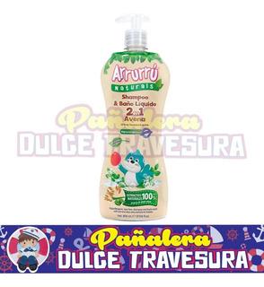 Shampoo Y Baño Liquido Arrurru X800 Aven - L a $27
