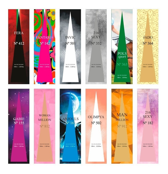 12 Perfumes Importados 100ml Revenda Atacado