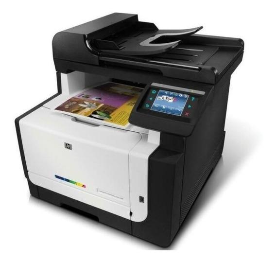 Impresora Multifuncional Hp Cm1415fnw De Uso Profesional