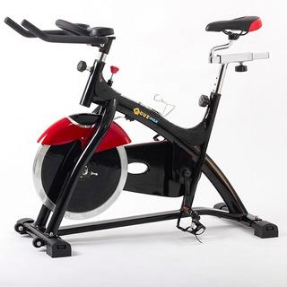 Bicicleta Profesional De Spinning Quuz Cycle C/disco De 18kg Gimnasios Clases Indoor