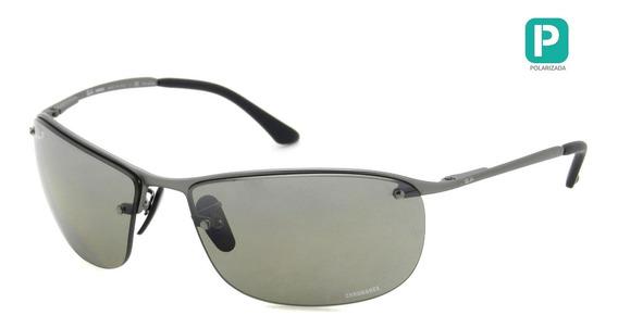 Óculos Ray Ban Rb3542 029/5j 63 Polarizado - Lente 63mm