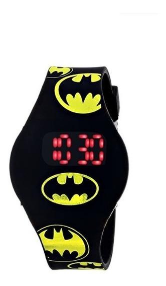 Reloj Led Digital De Batman Dc El Original