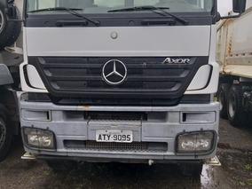 Caminhão Basculante Axor 3344 K 6x4 - Baixa Km