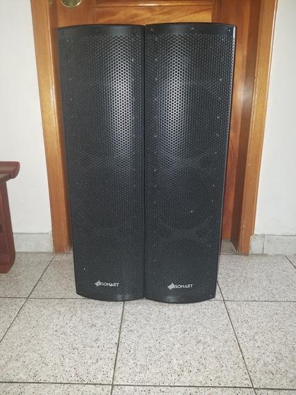 Sistema Amplificado 3 Vías De 6 200w
