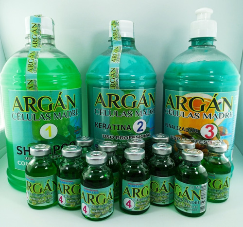 Argan Celulas Madres 24amp 10ml - mL a $253