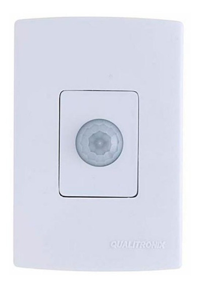 Sensor De Presença De Parede C/ Fotocélula Qualitronix Qi2m