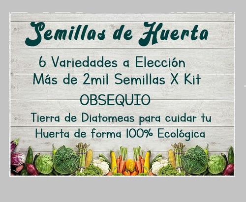 Imagen 1 de 2 de Kit De Semillas De Huerta
