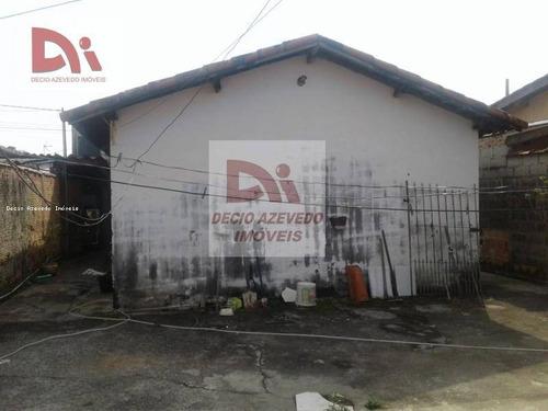 Imagem 1 de 10 de Casa Com 1 Dormitório À Venda Por R$ 160.000,00 - Cecap - Taubaté/sp - Ca0035