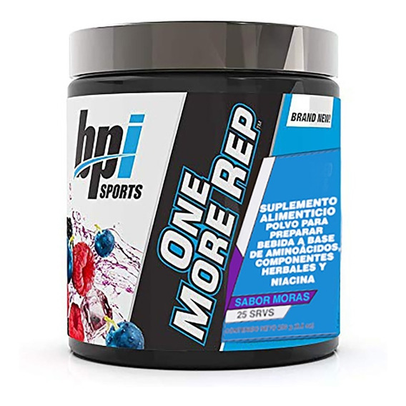 Pre Entreno One More Rep Bpi 250 G (25 Srvs)