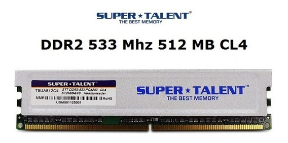 Memorias Ddr2 512 Mb 533 Pc4200 Lanus