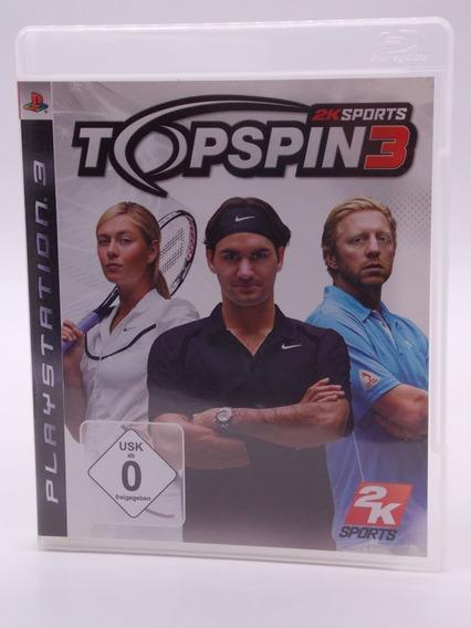Top Spin 3 Play Station 3 Original Mídia Física