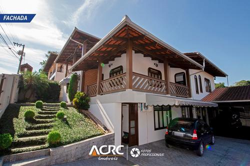 Acrc Imóveis - Casa Com 03 Pavimentos Semi Mobiliada Para Venda No Bairro Água Verde - Ca01372 - 67814953