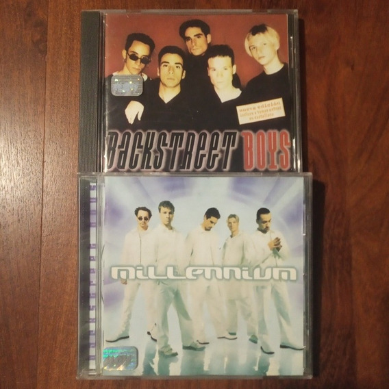 Lote Dos Cd Backstreet Boys Igual A Nuevo Millenium