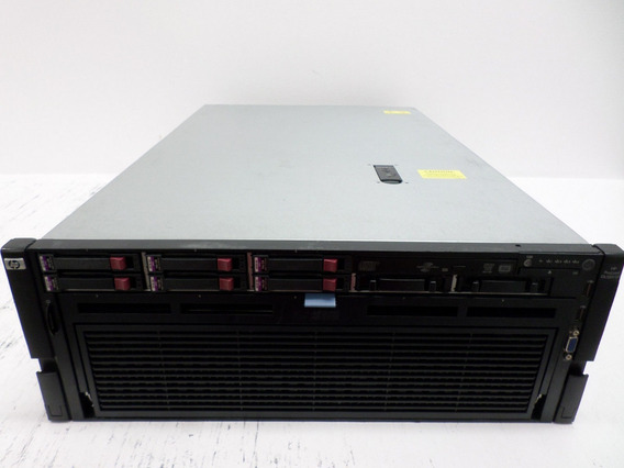Servidor Hp Proliant Dl580 G7 4x Xeon X7560 (8-core) 128gb
