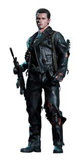 Hot Toys - Terminator 2 Figurine Dx 1/6 T-800 Battle Damaged