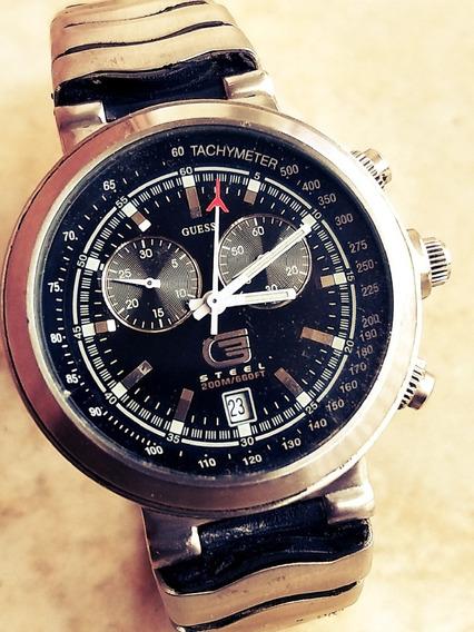 Relógio Guess Aviador Mod Shark Crono = Seiko Ômega Citizen