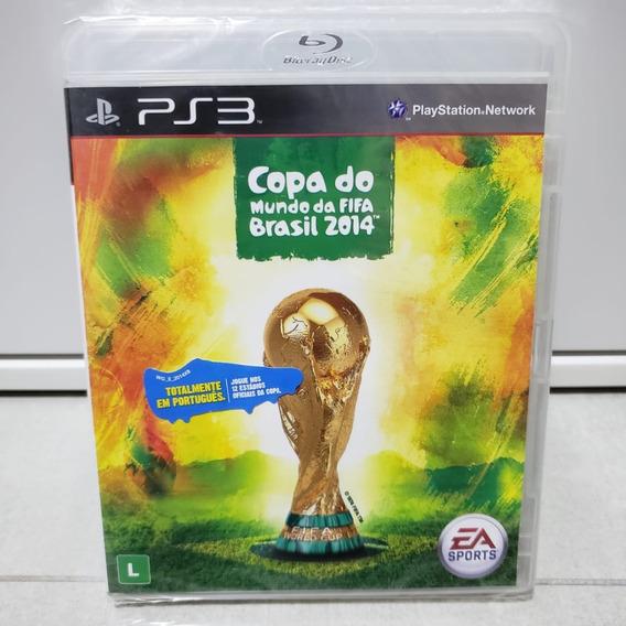 Copa Do Mundo Da Fifa Brasil 2014 - Ps3 - Lacrado