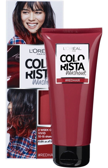Colorista Tintura Washout Red