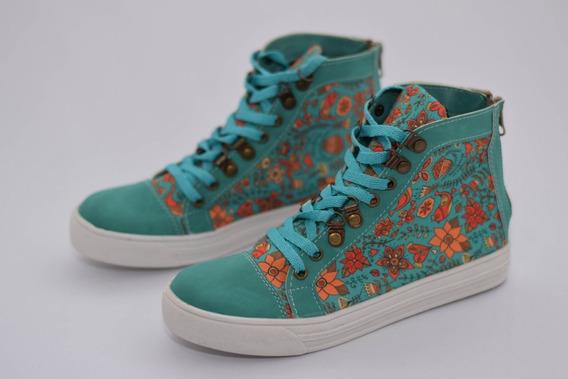 Botitas Zapatillas De Diseño Tipo All Star