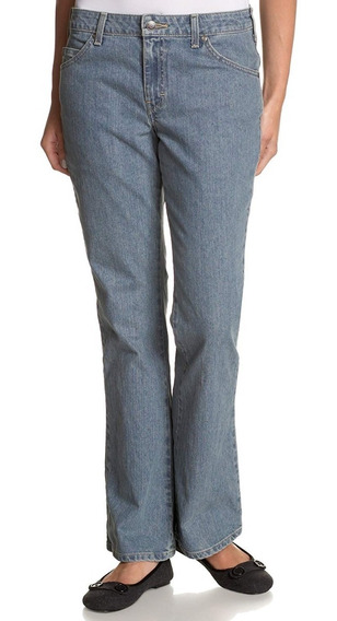 Dickies Fd113 - Jeans De Dama Stretch Corte De Bota