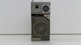 Radio Portatil Seiko Com Am E Fm Funcionando Normalmente